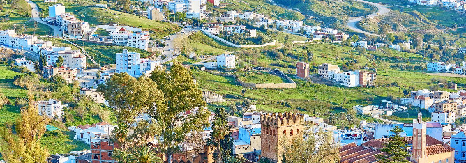 Chaouen in the mountains of Rif