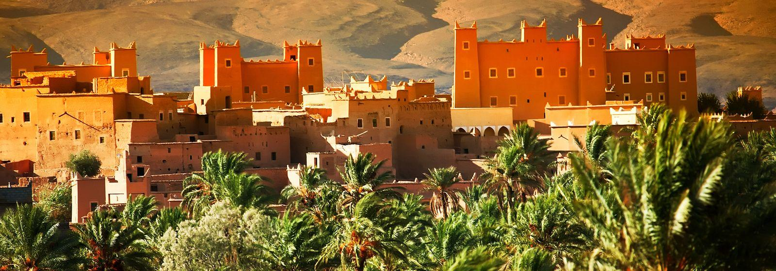 Kasbah and Old Building